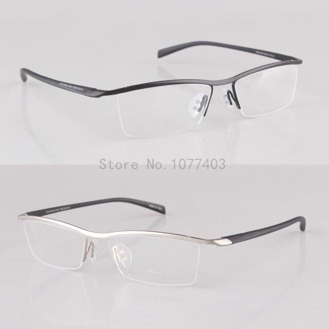 Sports elastic temple eyeglasses men and women fashion myopia ...