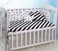 200*28CM Cotton  Baby Bumpers Nordic Style Classic Black White  Half Surrounded Cirb  Decorative Baby Cot Bumpers Baby Bedding