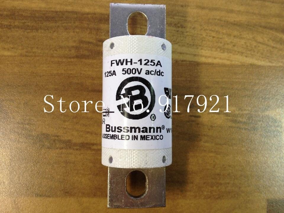 [ZOB] les états-unis Bussmann FWH-125A BUSS 500VAC/DC fusible fusible original-3 pcs/lot