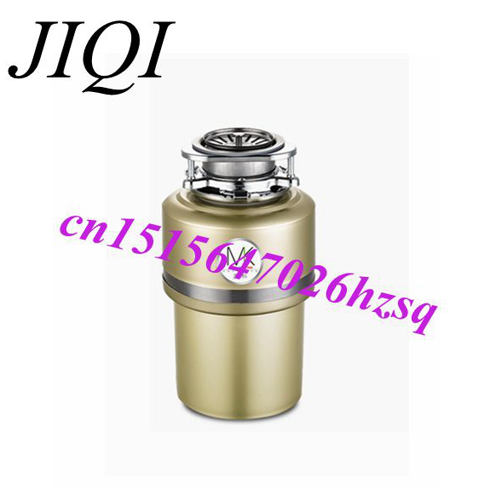 JIQI 560W 220V kitchen garbage food crusher food waste disposer Stainless steel Grinder material Continuous Food Waste Disposer