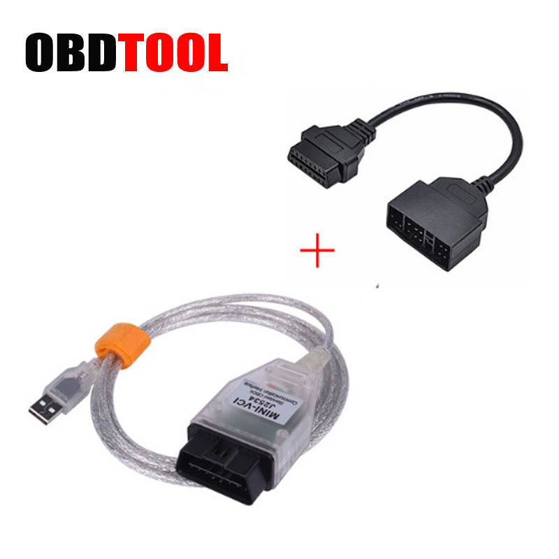 Mini vci j2534 diagnostic cable