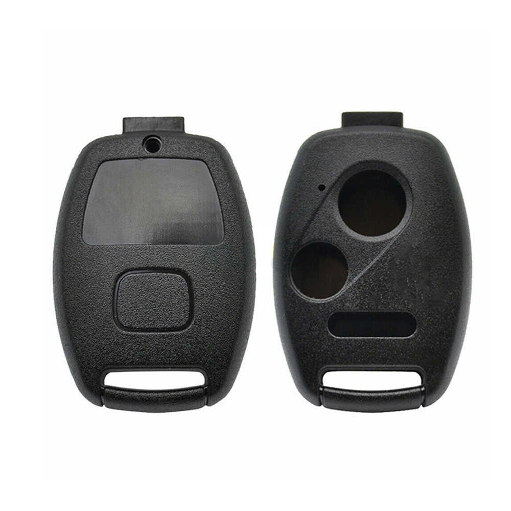 2019 New Black 2 Buttons Key Shell Cover Replacement Fits For Honda Accord Civic CRV CRZ Entry Key Case Remote Housing