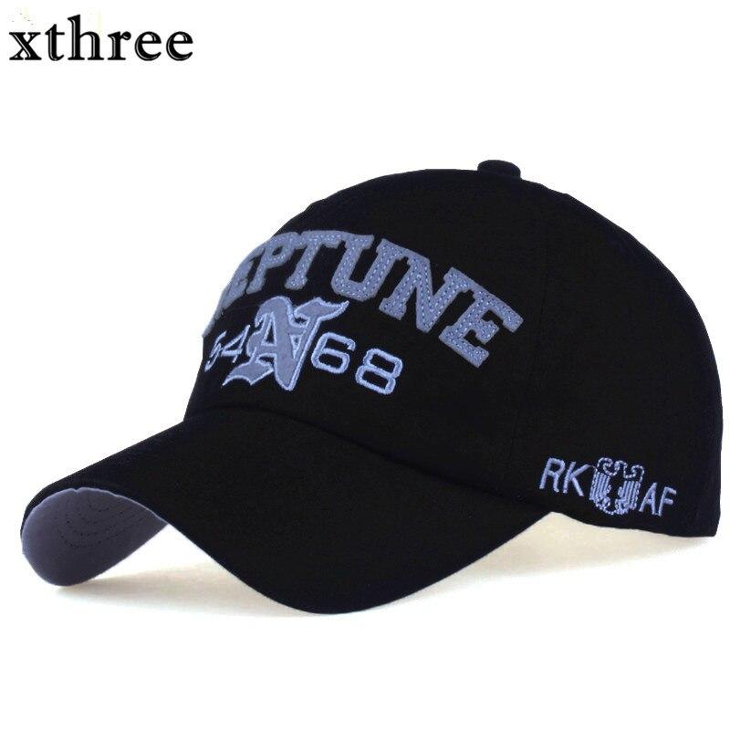 Prix pour Xthree mode casquette de baseball d'été snapback chapeau lettre broderie casquette Chapeau pour hommes femmes cap gros