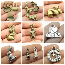High Quality Cat Accessories Mix Charms Jewelry For Making Diy Craft Supplies Creative Handmade Birthday Gifts