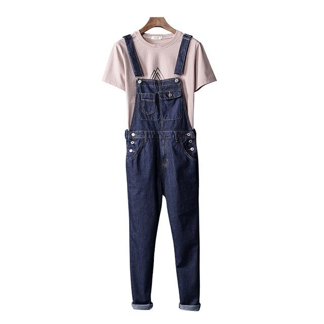 600ded6e999 Autumn Tide brand Male retro denim overalls Hip Hop Harem jeans Pants Men  Cowboy Bib Jumpsuits Suspender cargo Trousers 042501