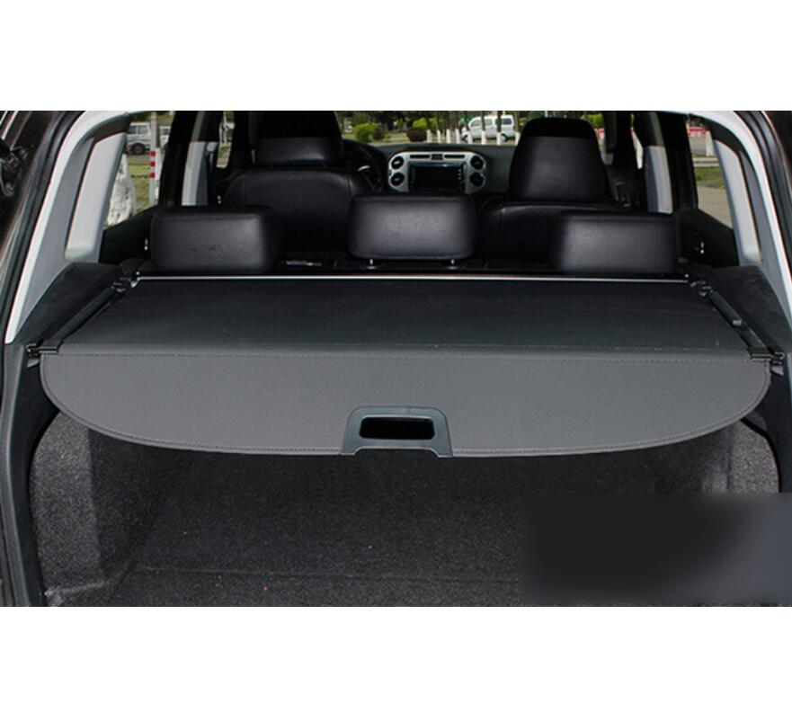 For VW Volkswagen Tiguan 2010 2011 2012 2013 2014 2015 Car Styling runk Cargo Cover Security Shield Shade Black Car accessories