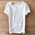 Um projeto fivela Gola Redonda Manga Curta camiseta de Algodão camisa dos homens t de homens marca casual clothing respirável dos homens do tshirt Camiseta