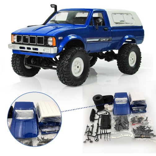 WPL C24 RC автомобилей 1:16 4WD радио Управление внедорожные мини автомобиль Рок Гусеничный электрический багги двигающиеся RC автомобили Upgrade KIT ав...