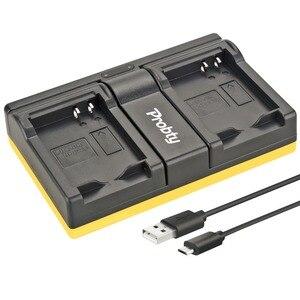 Image 1 - Probty EN EL23 EN EL23, cargador Dual USB para Nikon Coolpix P600, PM159, P610S, S810c, P900S, S810 y P900