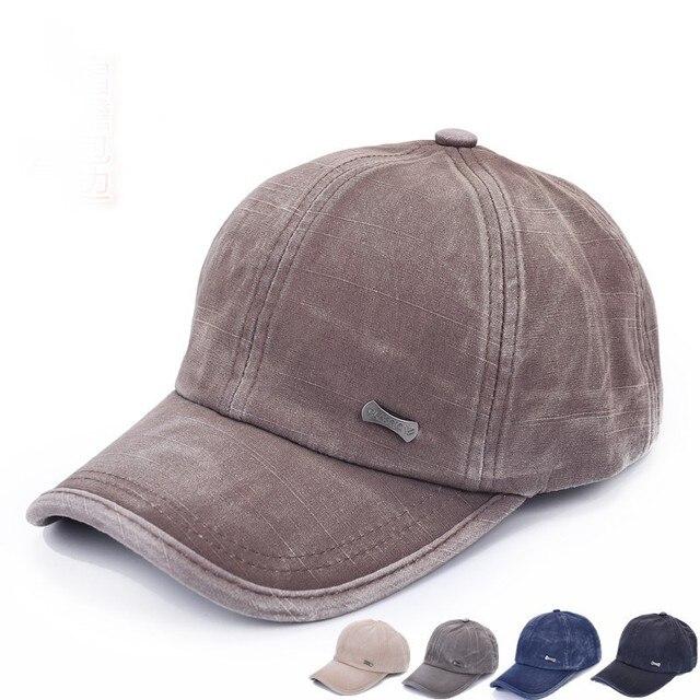 Summer Style Cadet Baseball Cap Mens Women Classic Adjustable Army Plain Hat  For Dropshipper 10da3d85521