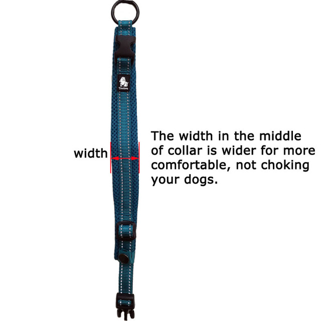 Truelove Easy On Pet Dog Collar And Leash Set Nylon Adjustabele Collar Dog Training Leash Reflective Pet Supplies Dropshipping 3