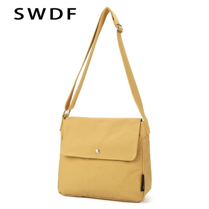 Shoulder Bag Womens Canvas Handbags