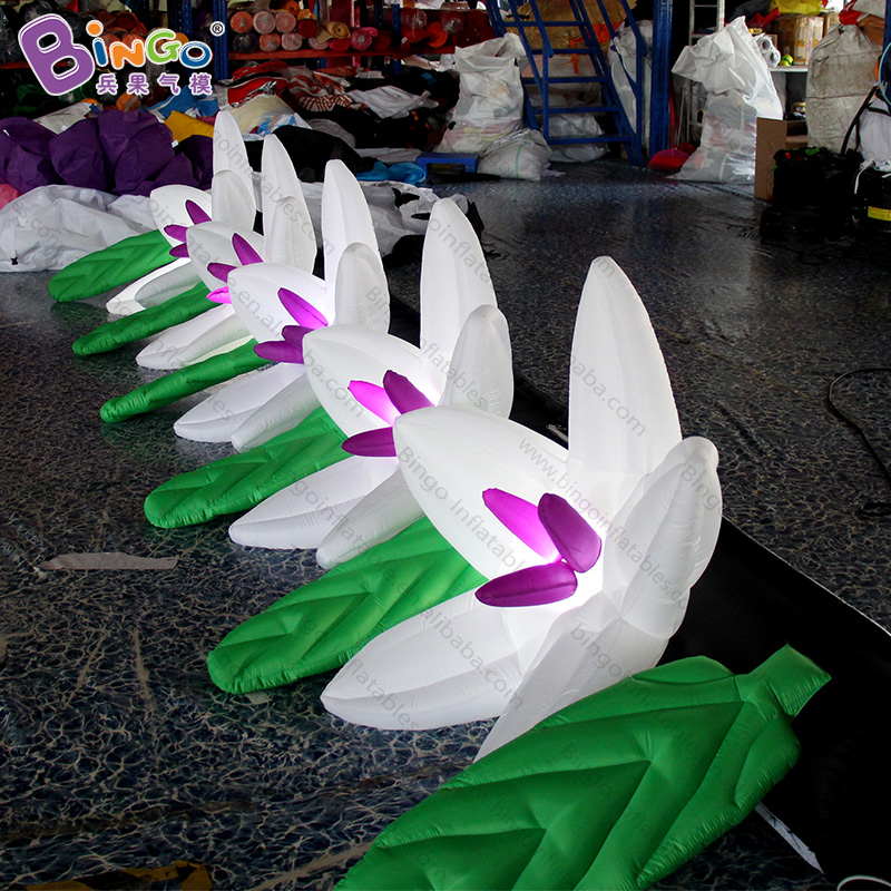 Personalized 5 Meters Indian Inflatable Flower / 16 Feet Length India Inflatable Flower For Display Toys Excellent (In) Quality