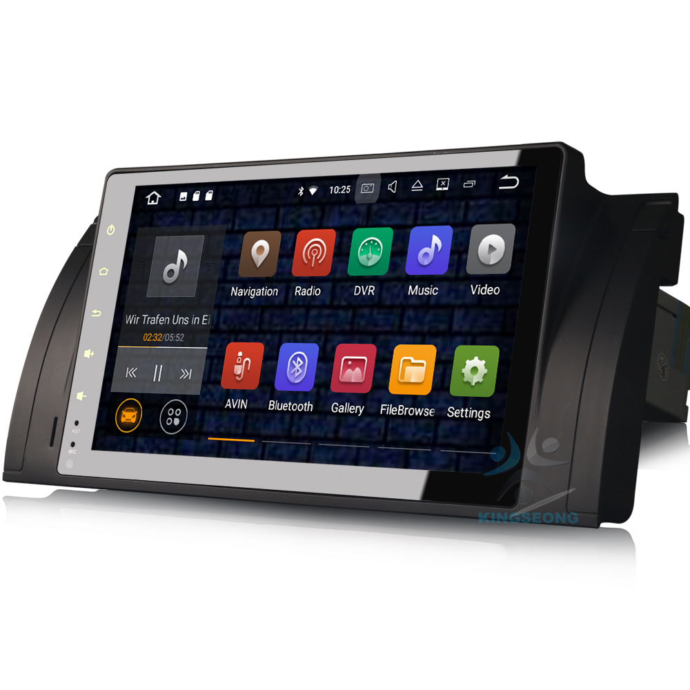 Quad Core DAB+ GPS Android 7.1.2 Autoradio Car cd player for BMW 5 Series E39 X5 E53 M5 3G Car Radio DVR OBD WIFI Mirror link