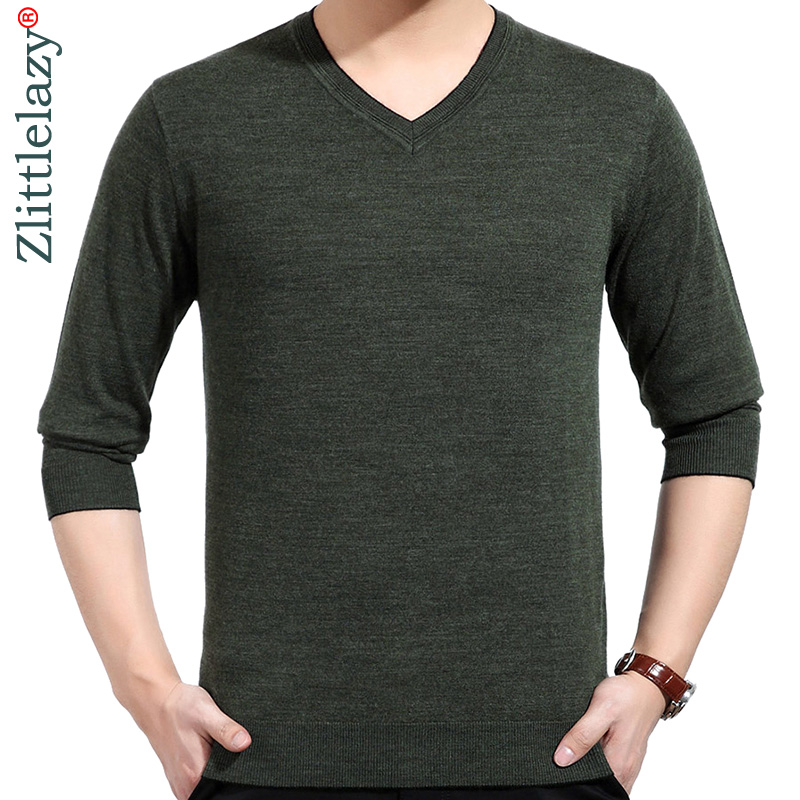 2019 Brand Casual Social Thin Spring Solid Pullover Men Sweater Shirt Jersey Clothing Pull Sweaters Mens Fashion Male Knitwear