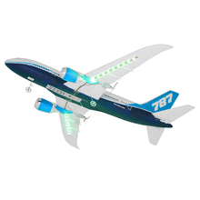 45cm Boeing 787 Airplane Crafts Model Remote Control Plane Fixed Wing Drone Aircraft Aviation Souvenir Adult Children Toys Gifts