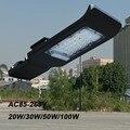 50 Вт тонкий светодиодный уличный фонарь IP65 теплый холодный белый 100В-240В