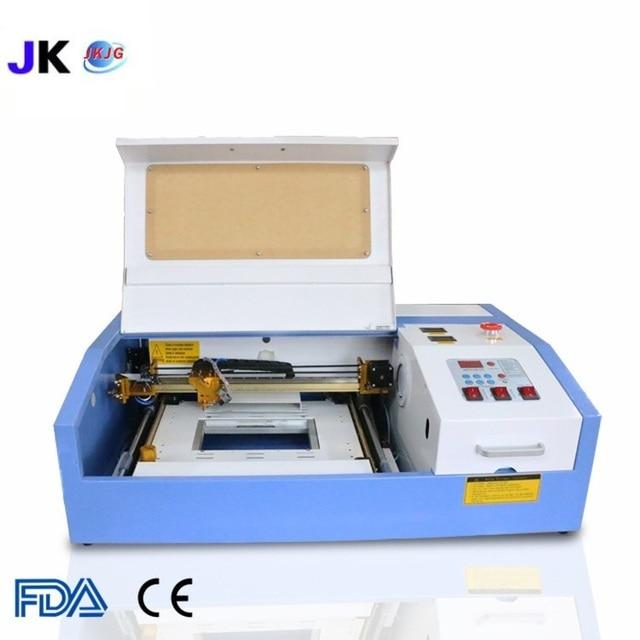 2019 New Version JK-K3020 laser co2 40w cnc laser cutting machine laser engraving USB Supported