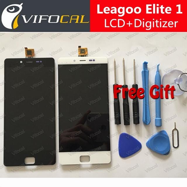 LEAGOO Elite 1 Display LCD + Touch Screen + Ferramentas FHD 100% Novo de Substituição do Conjunto Digitador Para LEAGOO Elite 1 Do Telefone Móvel