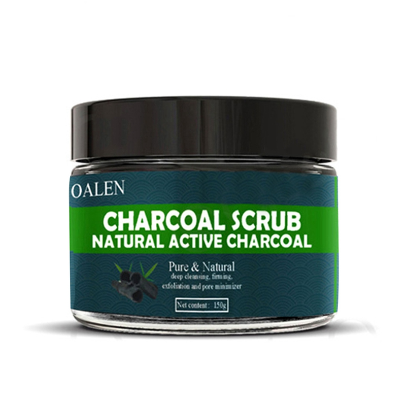 Bamboo Charcoal Exfoliating Body Scrub Salt Face Scrub Dead Skin Remover Whitening Moist Deep Cleasing Skin Care 150g Product