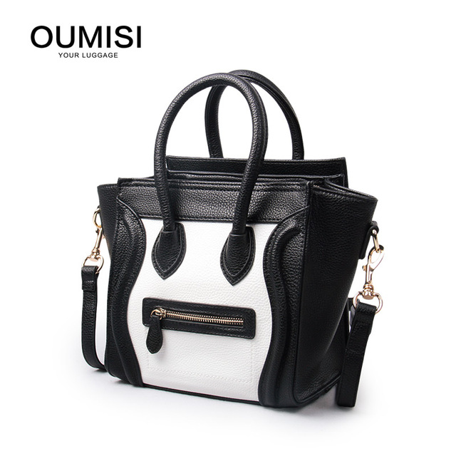 Oumisi 2017 New Women Bag For Woman Fashion Leather Handbags Messenger Bags Hb