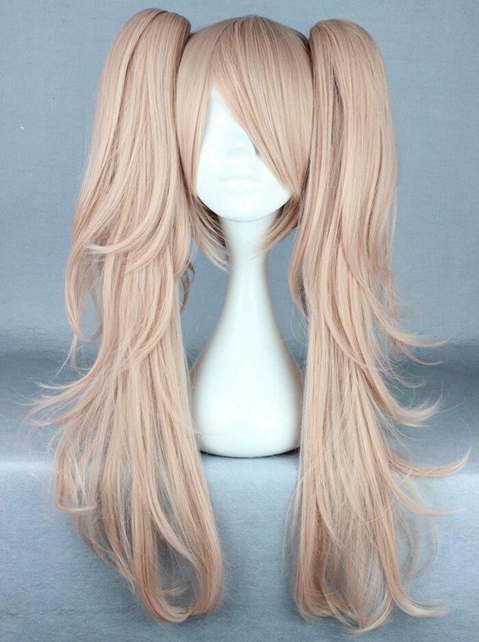 Anime Danganronpa Monokuma Enoshima Junko Wig Cosplay Costume Women Party Wigs