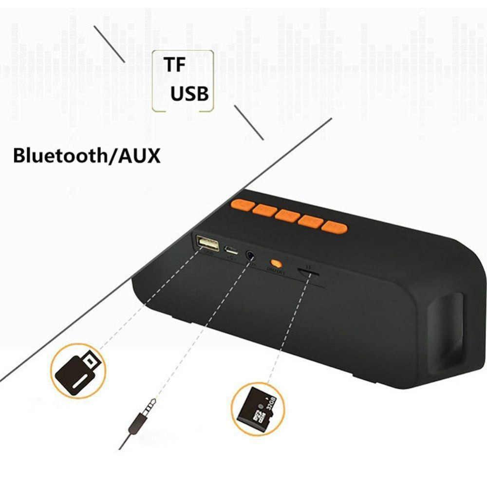 Przenośny głośnik sc208 bezprzewodowy głośnik bluetooth z ekranem dotykowym wyjście mocny bas dźwięk Stereo