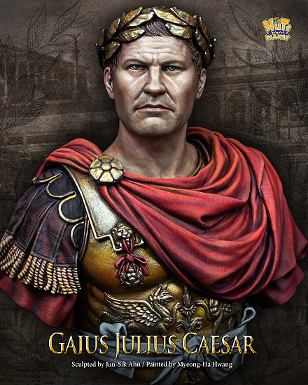 1/10 GAIUS JULIUS CAESAR Resin Figure Bust GK The Role Of Historical Mythology Uncoated No Colour