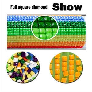 Image 5 - 핫 다이아몬드 페인팅 크로스 스티치 풍경, 30*40cm 전체 스퀘어 다이아몬드, Diy, 다이아몬드 자수 코티지, 5D, 다이아몬드 장식 선물