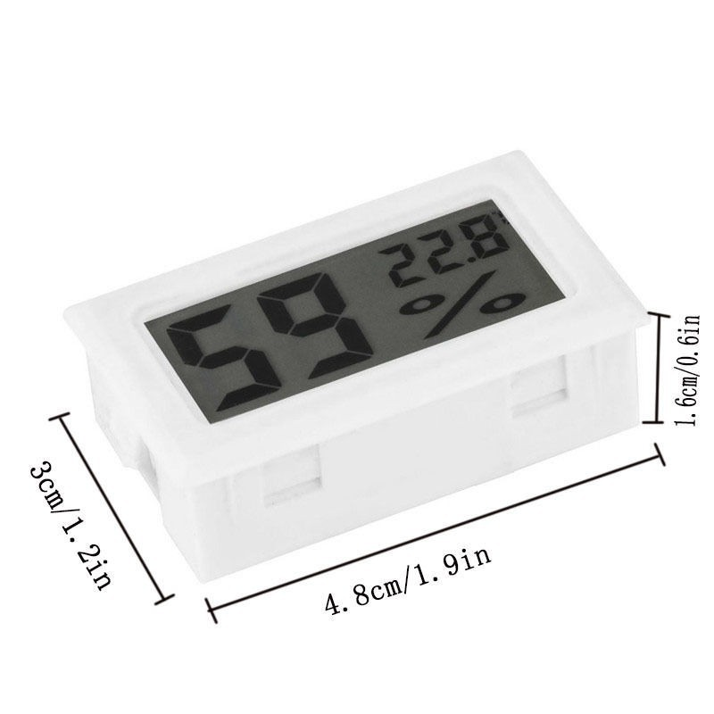 Lcd Digital Thermometer Hygrometer Temperature Indoor Convenient Sensor Humidity Meter Gauge Temperature Humidity Instruments