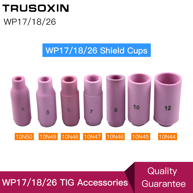 Welding Tools TIG Welding Machine Accessories/Consumables Porcelain WP26 17 18 Series Shield Cups Nozzles