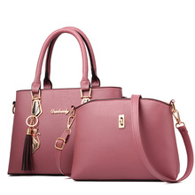Women's New Luxury Fashion Handbag – Two Package Designer Shoulder Bag