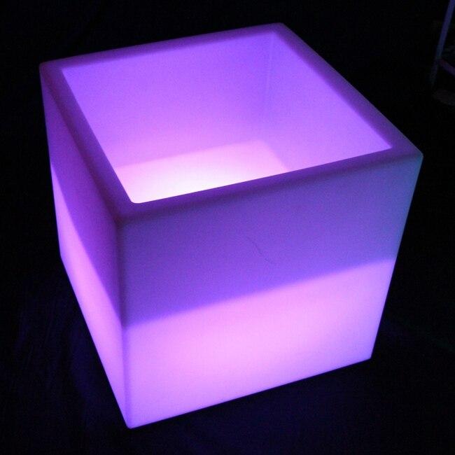 Iluminated LED seau à glace LED Vase à fleurs livraison gratuite 1 pc livraison directe