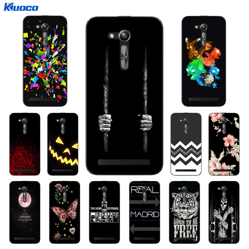 Cover for Asus X014D Case for Asus Zenfone GO ZB450KL ZB452KG 2nd Gen ASUS_X014D DIY Character Printing Funda Coque Capa