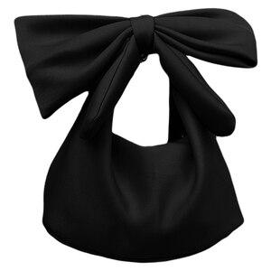 New Women Handbags Bowknot Clu
