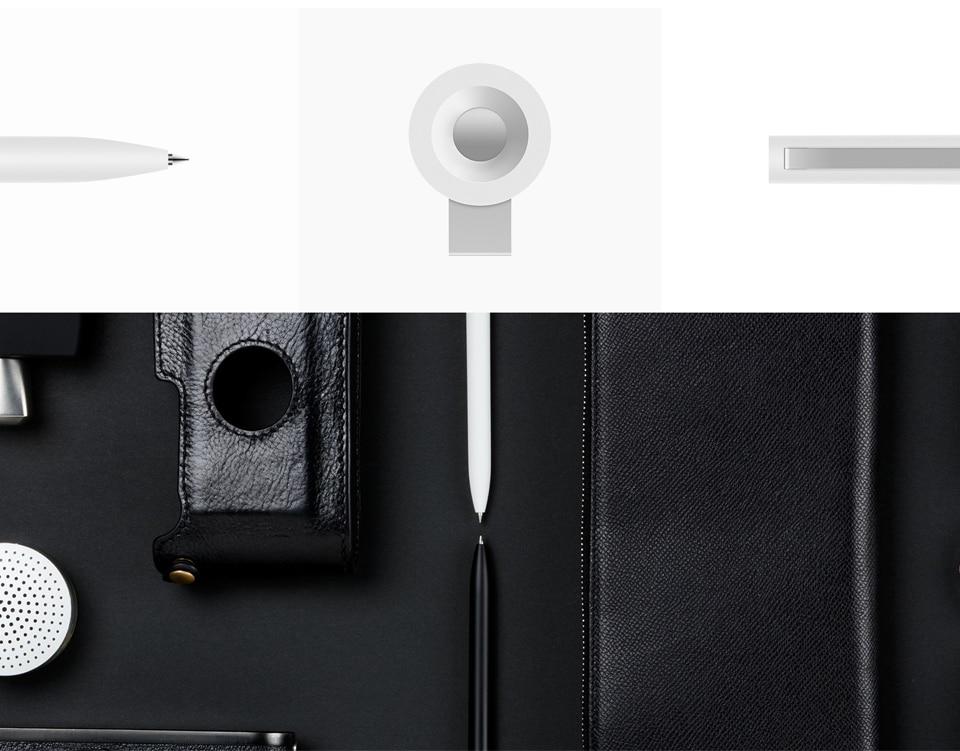 Original-Xiaomi-Mijia-Roller-Pen-with-0.5mm-Swiss-Refill-120-Degree-Rotation-143mm-Rolling-Ball-Pen-White- (2)