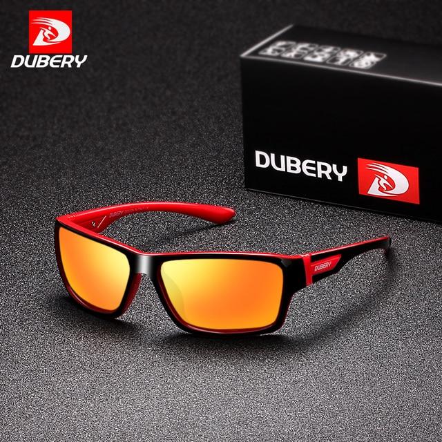 7637ab6cc DUBERY Polarizada óculos de Sol Das Mulheres Dos Homens do Esporte De  Condução Óculos De Sol