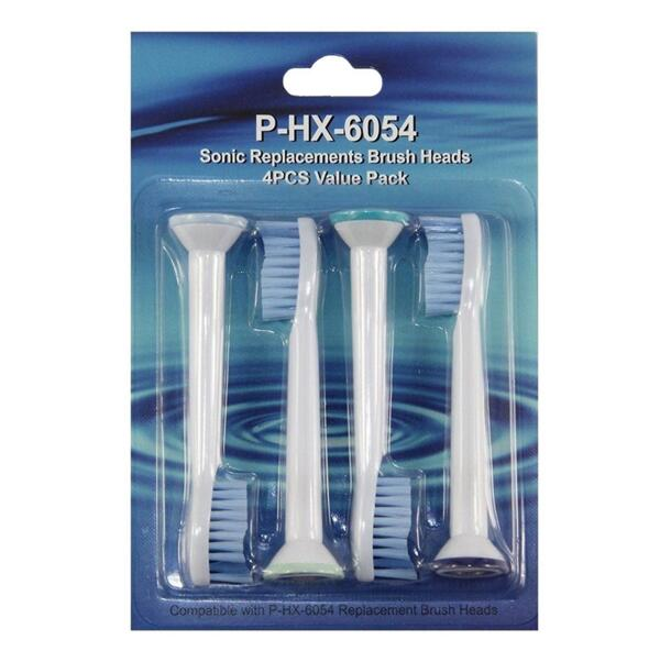 4Pcs/pack P-HX6054 Electric Toothbrush Head For Oral B Sensitive Clean Electric Toothbrush Replacement Brush Heads