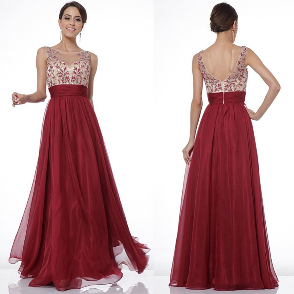 Fashion Beautiful Lady Women Wedding Evening Party Dresses