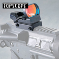 Jagd Scopes Optics Red Dot Anblick 20mm Schiene Sniper Pistole Airsoft Air Guns Reflex Zielfernrohre Holographische Anblick-in Zielfernrohre aus Sport und Unterhaltung bei