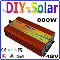 New Design 800W Inverter 48V DC To AC 110V Or 220V With 1600W Surge Power 800W