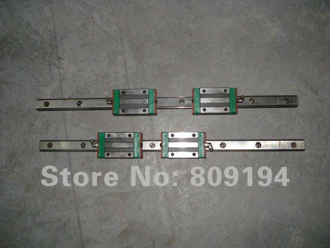 500MM  HGR20   linear guide rail HIWIN from taiwan free shipping saudi arabia 2pcs hgr20 2000mm and hgw20c 4pcs hiwin from taiwan linear guide rail