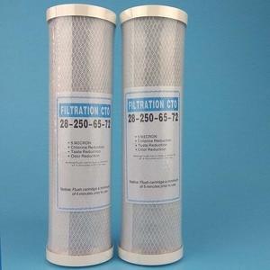 Image 4 - 3レベルpp綿フィルター + 10 浄水器フィルターudf粒状活性炭フィルター + cto圧縮カーボン逆浸透