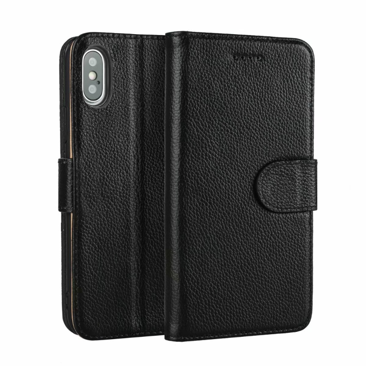 CKHB XS Real Genuine Leather Phone Bag Case For iPhone X 8 7 Plus XS MAX
