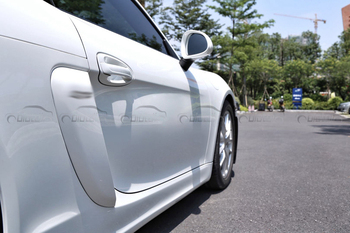 Porsche Boxster 981, 2013-2015 estilo de coche ABS flujo de aire pegatinas Fender Trim