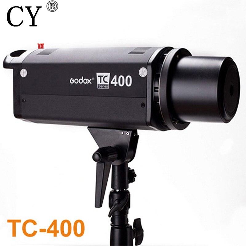 High Quality Photo Studio Strobe Flash Monolight Godox TC-400 400ws Bowens Mount Studio Flash Light Photographic Lighting