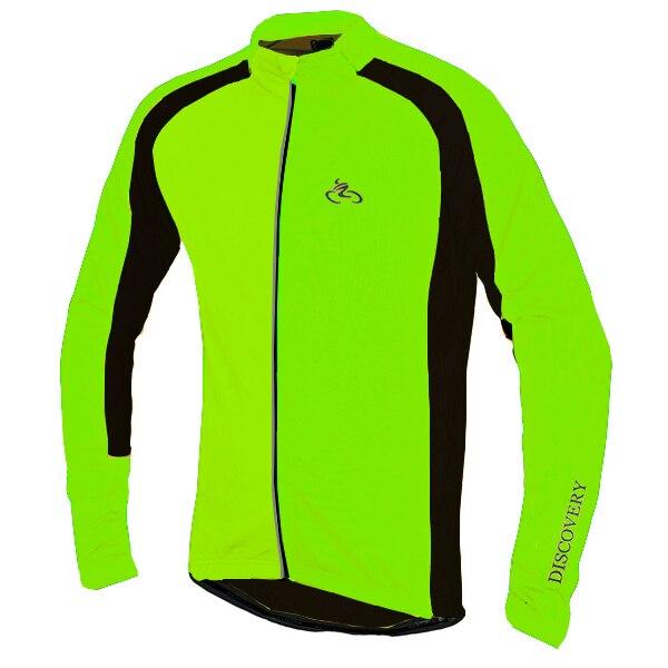 Hommes automne hiver polaire thermique à manches longues équitation vestes réfléchissantes cyclisme vestes