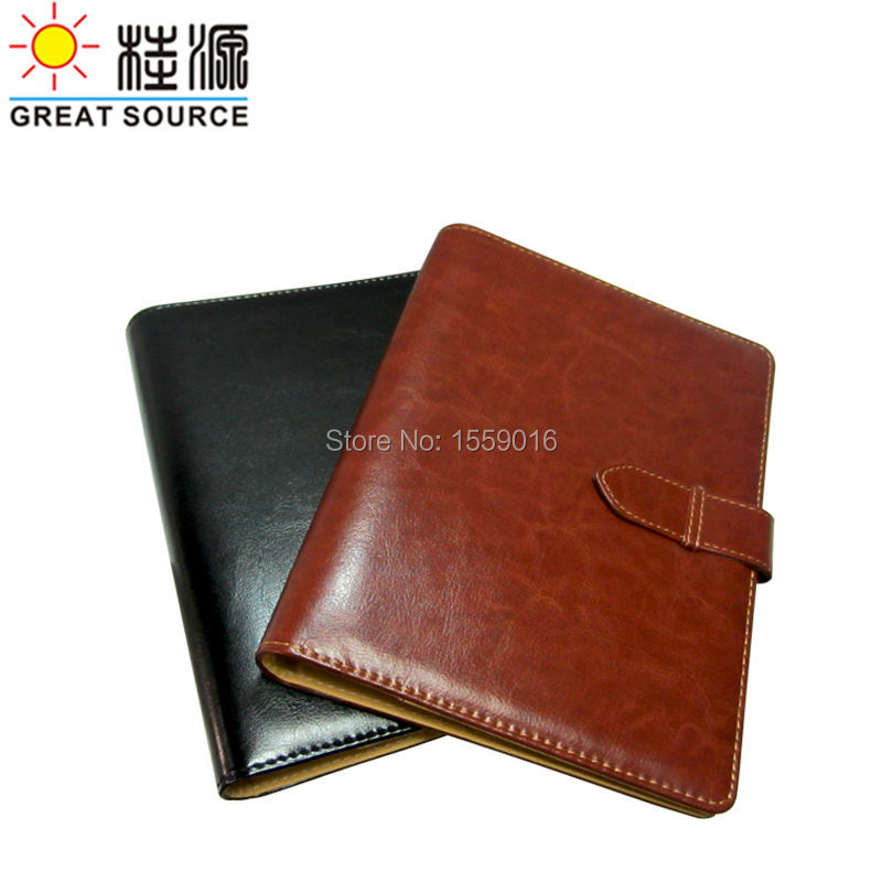 Great Source Leather Padfolio folder New design high quality 6 rings folder for a5 notepad Free shipping business padfolio portfolio with letter size writing notepads deluxe executive vintage brown leather padfolio new