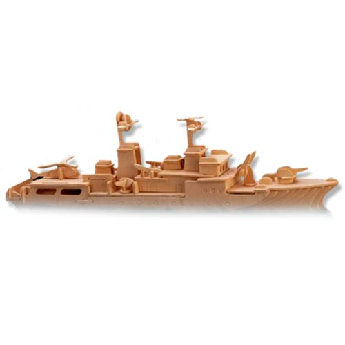LeadingStar 3D Wooden Puzzle Destroyer Ship Model Children and Adult s Educational Building Blocks Puzzle Toy
