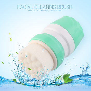 MAANG Face Wash Brushes Soft Facial Cleaner Design Health Beauty Silica Gel Cleaning Your Nose Effectively Be Fixed On The Shelf 3